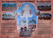Image of MARALINGA BOMBS LEST WE FORGET (GST Incl)