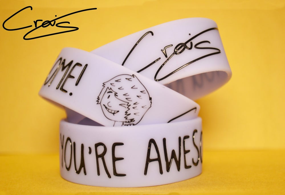 Image of You're Awesome! Craig's Lilac Wristband!