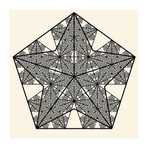 Image of Fractal Pentagram