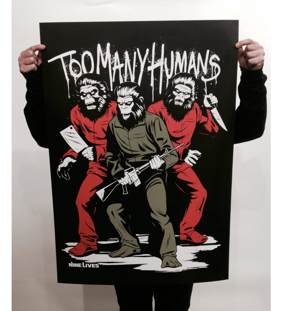 Image of Too Many Humans Poster