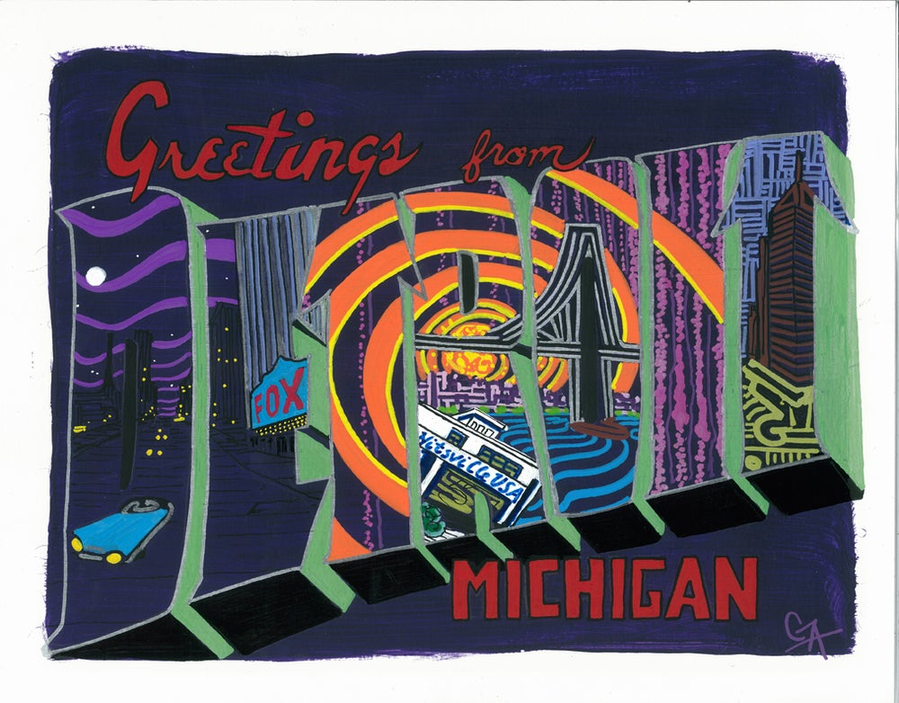 Image of Greetings From Detroit
