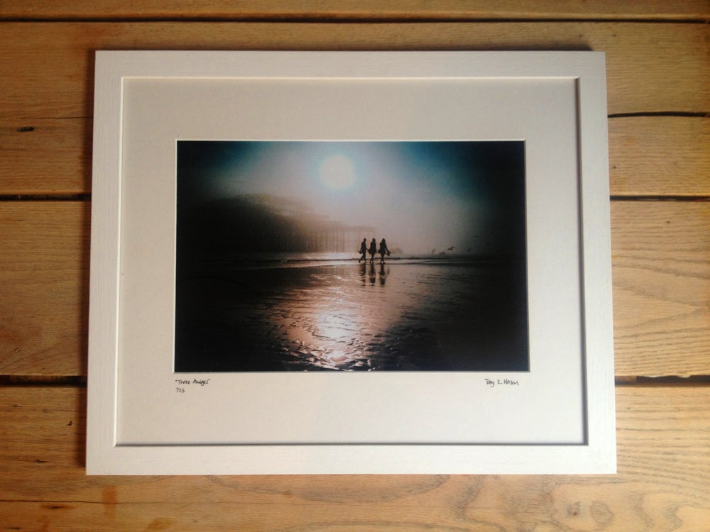 "Image of ""three amigos"" limited edition, framed"