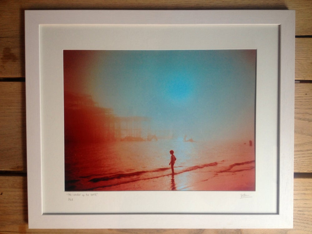 "Image of ""the wonder of the world"" limited edition, framed"