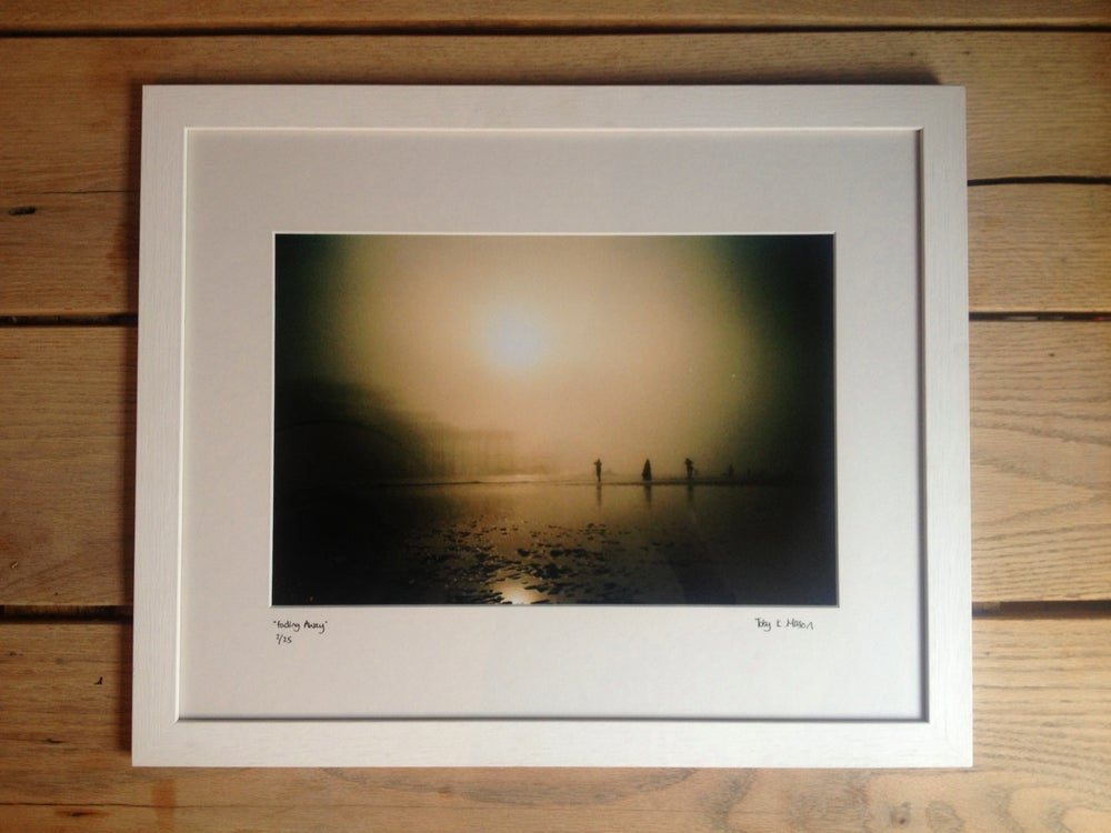 "Image of ""fading away"" limited edition, framed"