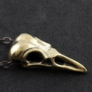 Image of Bird Skull Necklace, SW253