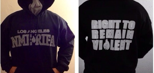 Image of Los Angeles NME RIFA HOODY SWEATER