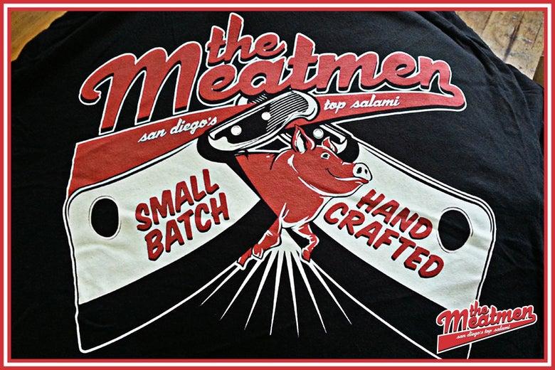 Image of MEATMEN CLEAVER TEE