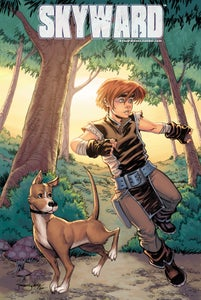 Image of Skyward PRINTS: A Boy & His Dog
