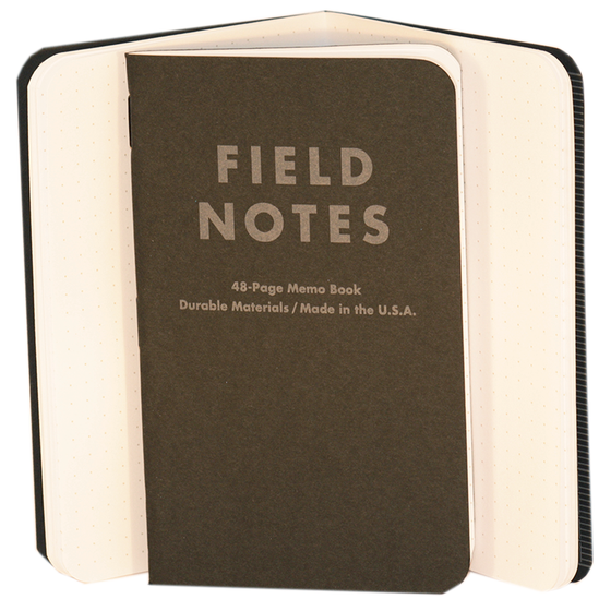 Image of Field Notes - Pitch Black
