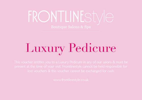 Image of Luxury Pedicure