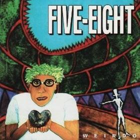 "Image of Five Eight - ""Weirdo"" CD - 1994"