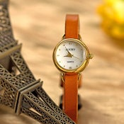 Image of Women Retro Leather Watch Vintage Style Wrist Watch (WAT00+3-1)