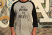 Image of Will Work for Waves  Raglan