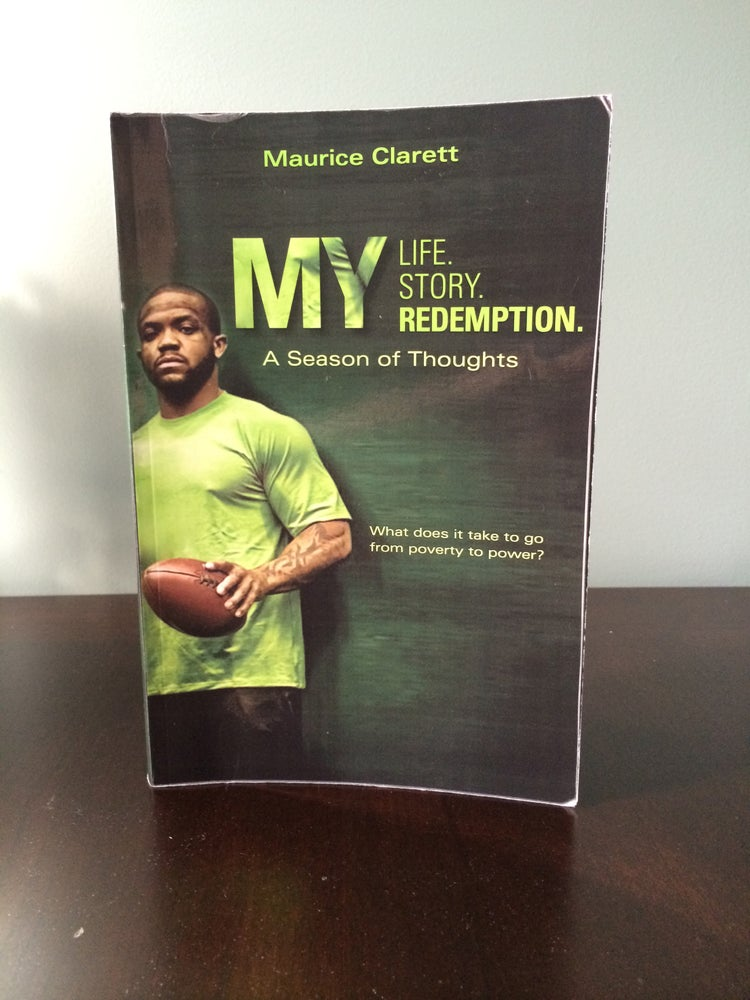 Image of Autographed Copy of MY Life My Story My Redemption by Maurice Clarett