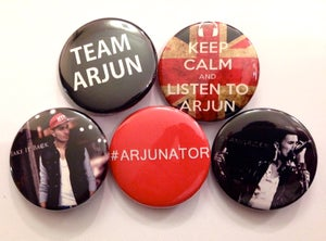 Image of Team Arjun Badges