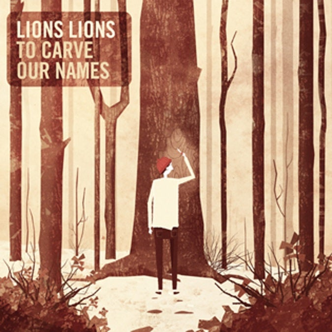 Image of Lions Lions - To Carve Our Names LP