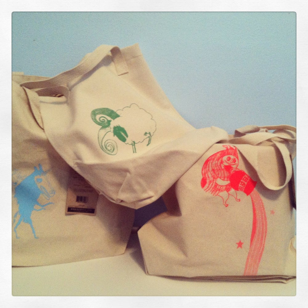 Image of Stargazer Bright Hue Tote & Swag