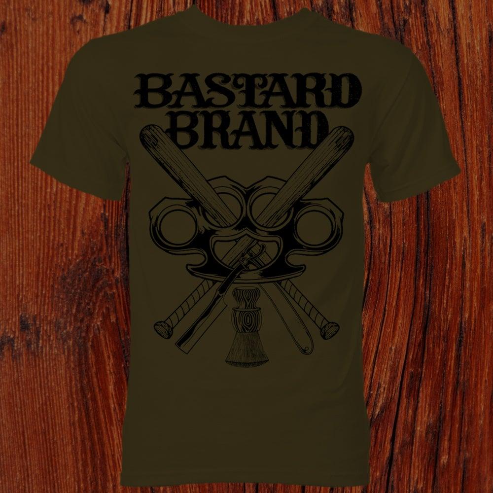 Pre order bastard brand logo t shirt bastard brand for Order shirts with logo