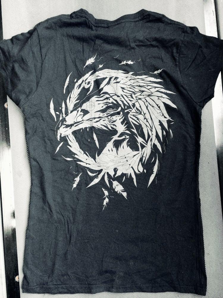 Image of BLACK eagle shirt