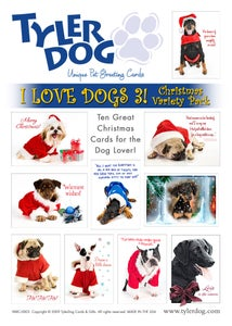 Image of I Love Dogs 3! Christmas Variety Pack