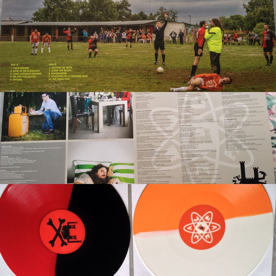 """Image of CASTLES - """"Fiction or Truth?"""" limited edition coloured vinyl"""