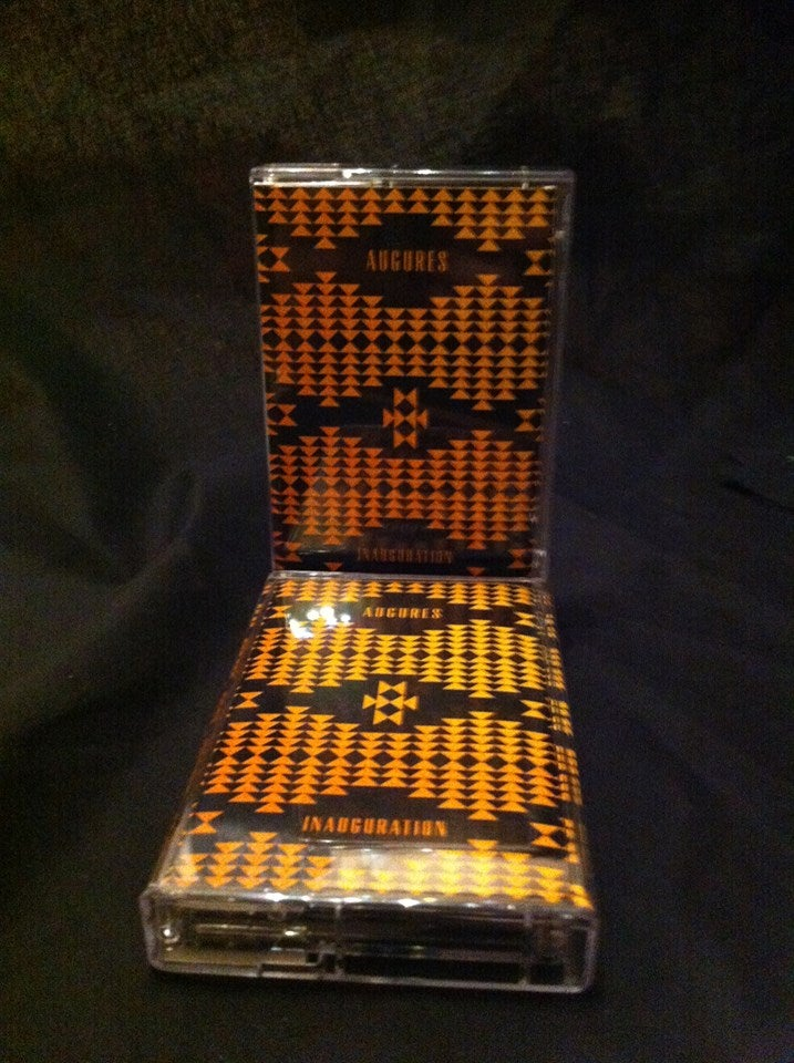 """Image of AUGURES - """"Inauguration"""" - tape w/ download code"""