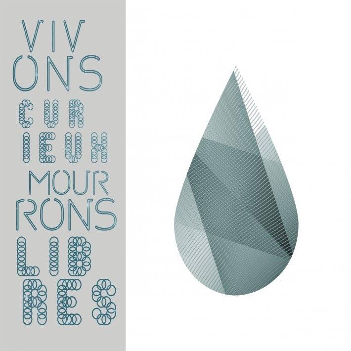 """Image of Artzine """"VIVONS CURIEUX, MOURONS LIBRES"""""""