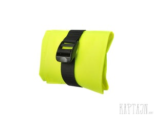 Image of Hi-viz fluo yellow seat pack / Fluo gul saddeltaske