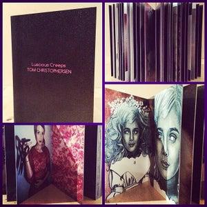Image of Luscious Creeps Art Book