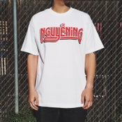 "Image of ""NGUYENING"" WHITE T-SHIRT"