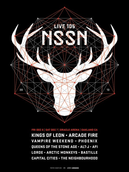 Image of Live 105 NSSN 2013 Poster