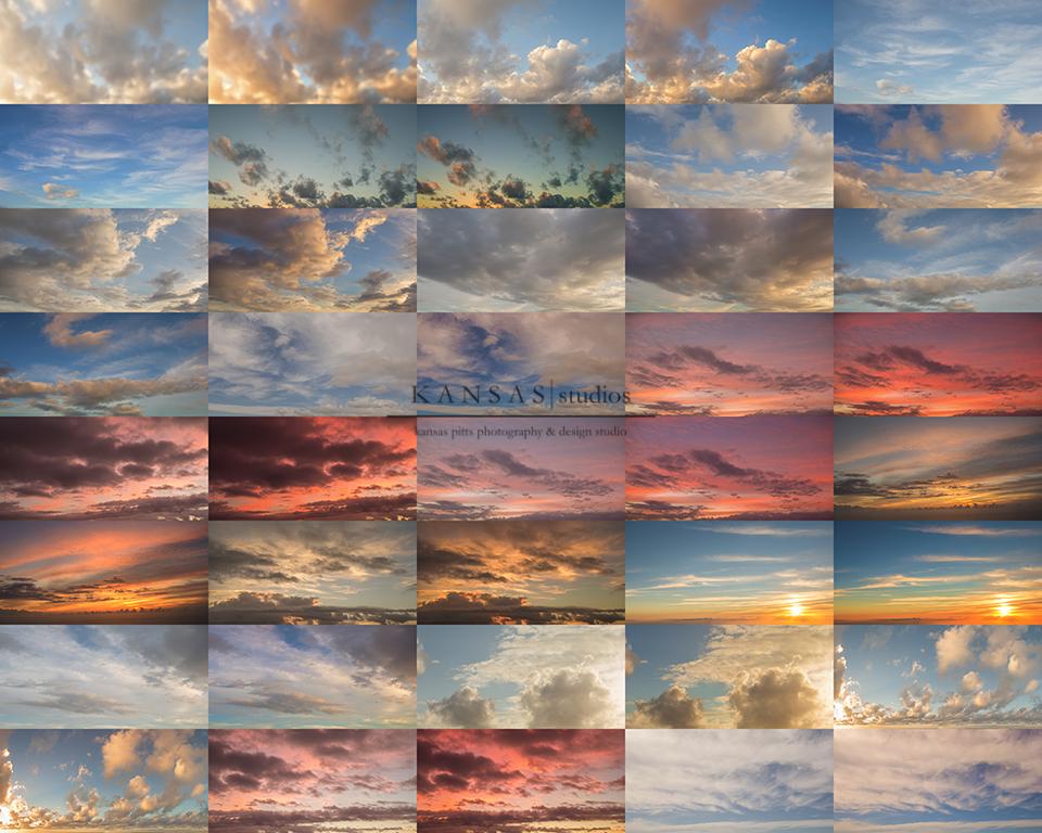 Image of Hawaiian Skies | Sky overlays by Kansas Pitts Photography