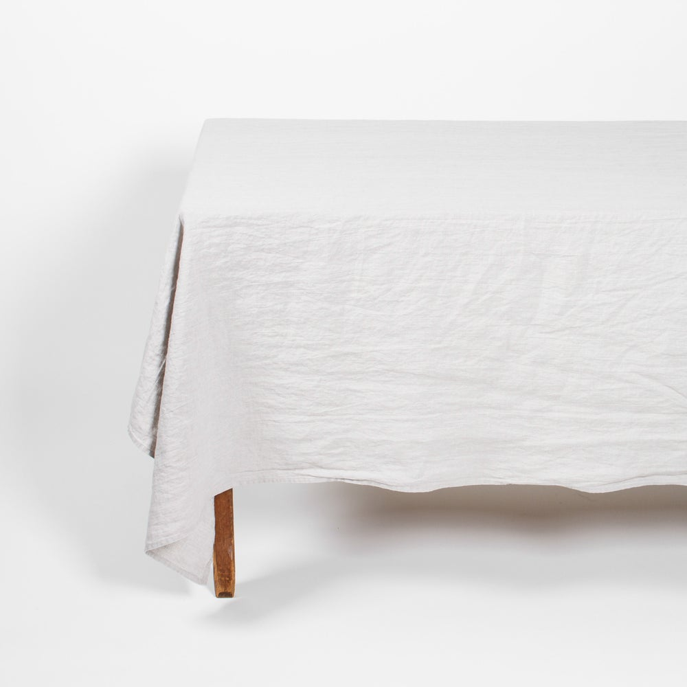 Image of Linen Tablecloth Sand