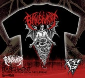 Image of BANISHMENT - Adverse Offering Tshirt RED