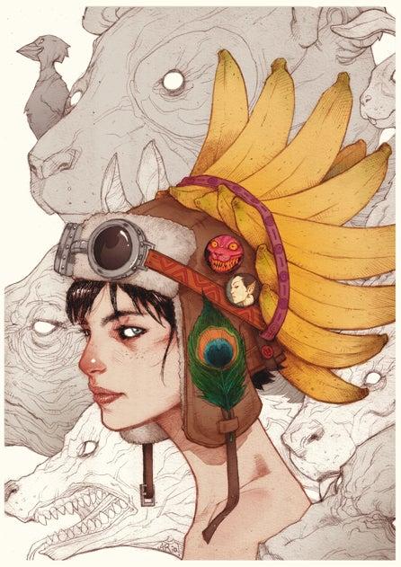 Image of Princess Consuela Bananahammock - A2 Poster
