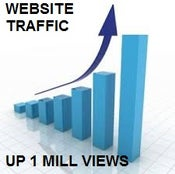 Image of GET UP TO 1 MILLION WEBSITE VIEWS