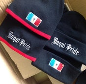 Image of Yaqui Pride with Yaqui Flag Beanies