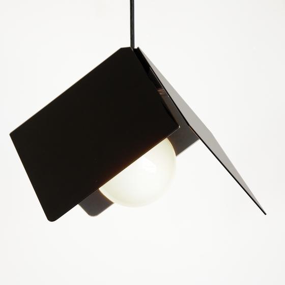 Image of Cubist Lamp: Black Anodize