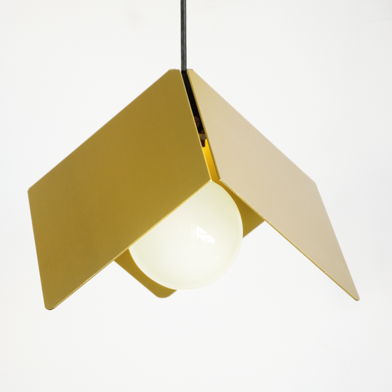Image of Cubist Lamp: Gold Anodize