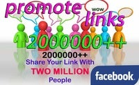 Image of  PROMOTE YOUR LINK TO OVER 2MILLION FACEBOOK GROUPS