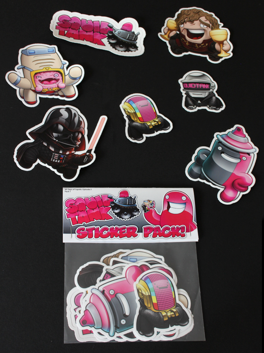 Image of 30 Days of Squids: Episode 2 Stickers - Group