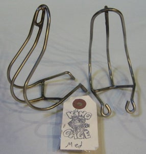 Image of King Cage Straped Stainless Toe Clips