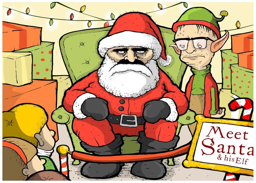 Image of Santa Card