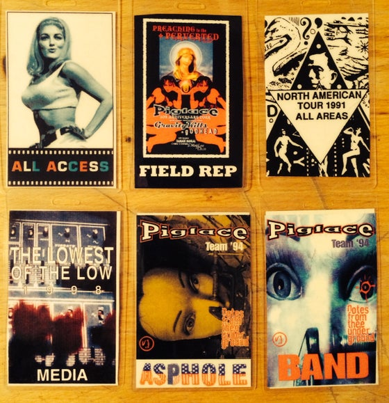 Image of Pigface tour passes set