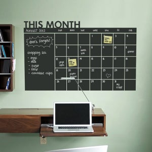 Image of Daily Chalkboard Wall Calendar