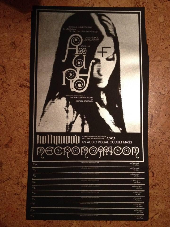 "Image of [ARTPRINT LTD30] Hollywood Necronomicon 19,7x27,5"" / 50x70cm"