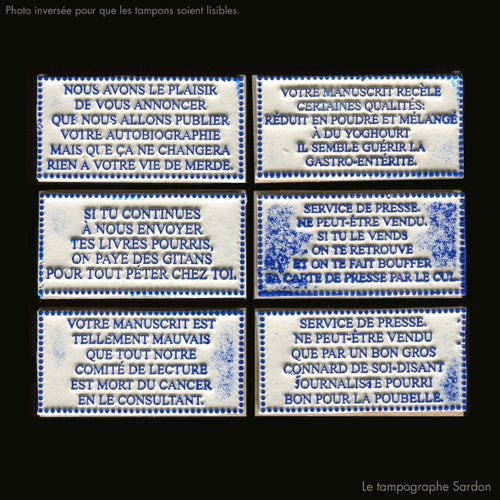 Image of Tampons pour éditeurs - Publisher Stamps