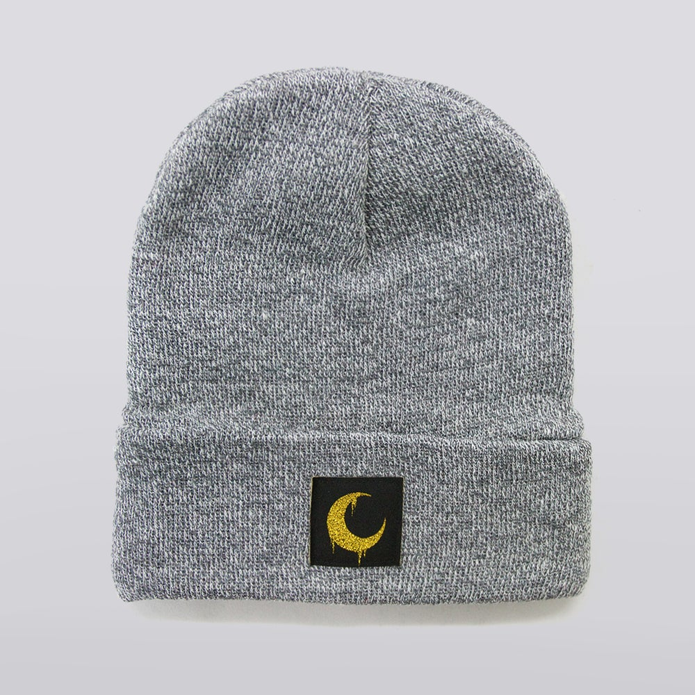 Image of Heather Moon Patch Beanie