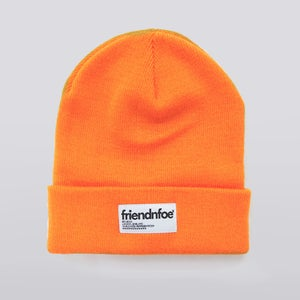 Image of Orange Patch Beanie