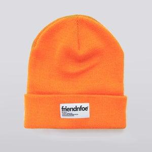 Image of Orange Patch Beanie